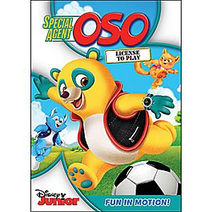 Special Agent Oso: License to Play DVD
