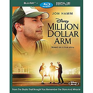 Million Dollar Arm Blu-ray Combo Pack
