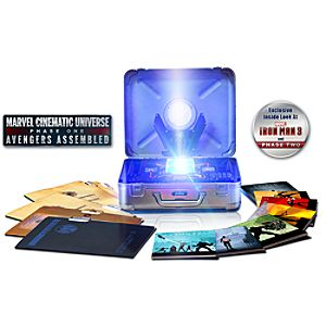 Marvels The Avengers Limited Edition Collectors Set - 10-Disc Set