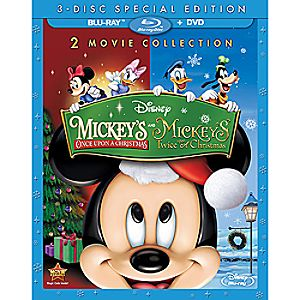 Mickeys Once Upon a Christmas + Mickeys Twice Upon a Christmas 3-Disc Special Edition