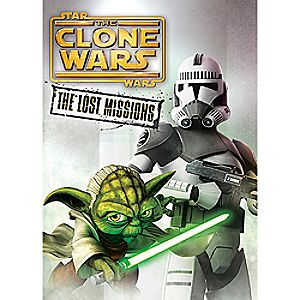 Star Wars Clone Wars: The Lost Missions DVD 3-Disc Set