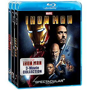 Iron Man 3-Movie Blu-ray Collection