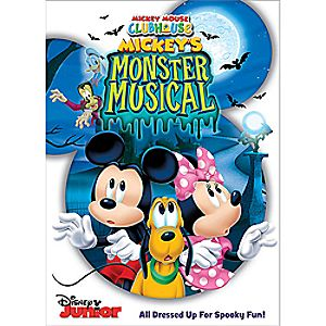 Mickey Mouse Clubhouse: Mickeys Monster Musical DVD