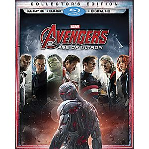 Marvels Avengers: Age of Ultron Collectors Edition 3-D Combo Pack