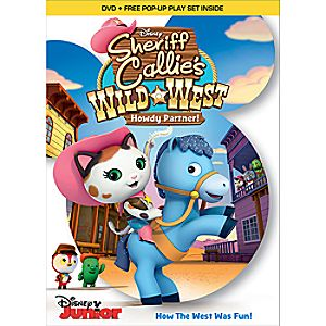 Sheriff Callies Wild West: Howdy Partner DVD