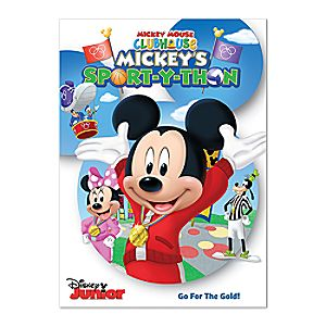 Mickey Mouse Clubhouse: Mickeys Sport-Y-Thon DVD