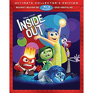 Disney•Pixar Inside Out Ultimate Collectors Edition 3D Combo Pack