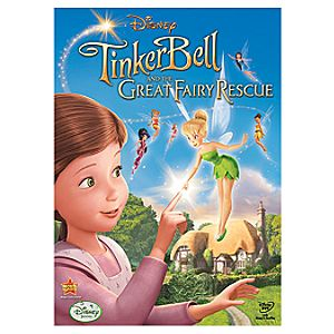 Tinker Bell and the Great Fairy Rescue DVD