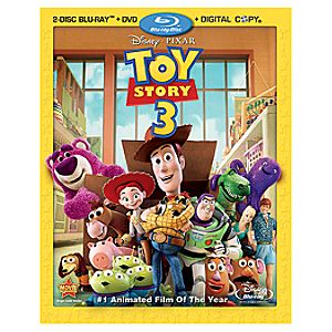 Toy Story 3: 2 Disc Blu-ray + DisneyFile* + DVD