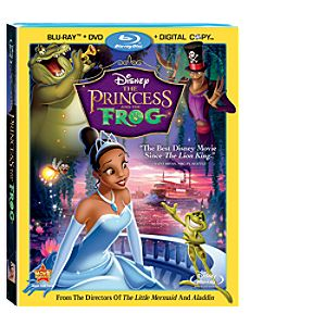 The Princess and the Frog Special Edition 3-Disc Combo Pack Blu-ray™ (Blu-ray + DVD + DisneyFile*)