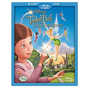 Tinker Bell and the Great Fairy Rescue 2-Disc Blu-ray and DVD