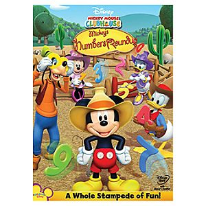 Mickey Mouse Clubhouse: Mickeys Numbers Roundup DVD