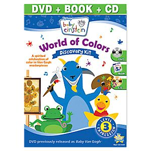 Baby Einstein World of Colors Discovery Kit