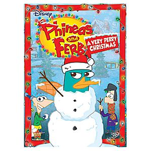 Pre-Order Phineas and Ferb: A Very Perry Christmas DVD