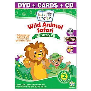 Baby Einstein Wild Animal Safari Discovery Kit