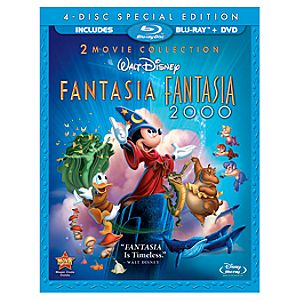 Pre-Order Fantasia 4-Disc Combo Pack Blu-ray (Fantasia BD & DVD and Fantasia 2000 BD & DVD)