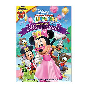 Pre-Order Mickey Mouse Clubhouse: Minnies Masquerade DVD