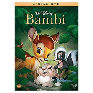 Pre-Order 2-Disc Bambi DVD