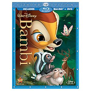 2-Disc Bambi: Diamond Edition Blu ray Combo Pack (Blu-ray + DVD in BD Amaray)