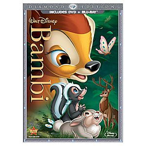 Pre-Order 2-Disc Bambi: Diamond Edition Blu ray Combo Pack (BD + DVD in DVD Amaray)