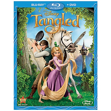 Pre-Order 2-Disc Tangled Blu-ray Combo Pack with FREE Lithograph Set Offer