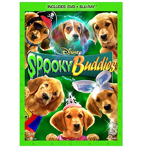 Pre-Order 2-Disc Spooky Buddies Blu-ray Combo Pack (in DVD Amaray case)