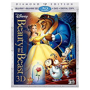 Pre-Order Diamond Edition 5-Disc Beauty and the Beast Blu-ray 3D and DVD + Disney File Combo Pack