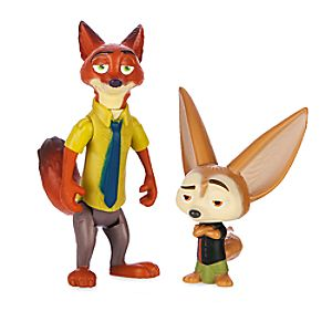 Nick Wilde & Finnick Figure Set - Zootopia