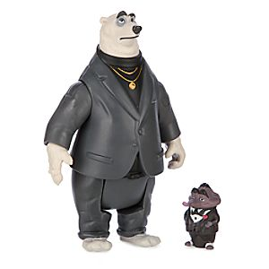 Mr. Big & Kevin Figure Set - Zootopia
