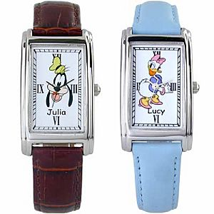 Customized Alice in Wonderland Small Watch for Adults
