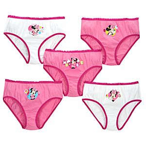Minnie Mouse Underwear Set -- 5-Pc.