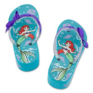Platform Ariel Flip Flops for Girls