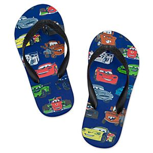 Cars 2 Flip Flops for Boys