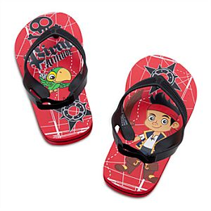 Jake and the Never Land Pirates Flip Flops for Boys