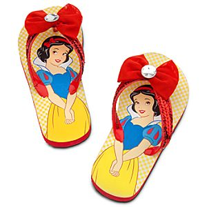 Snow White Flip Flops for Girls
