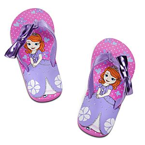 Sofia Flip Flops for Girls