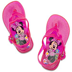 Minnie Mouse Sandals for Toddler Girls -- Pink