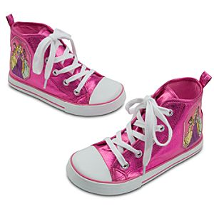 High-Top Disney Princess Sneakers