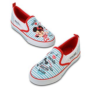 Nerds Mickey and Minnie Mouse Sneakers for Girls