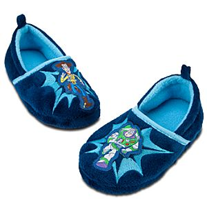 Plush Toy Story Slippers for Boys