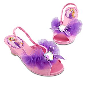 Dressy Tangled Rapunzel Slippers for Girls