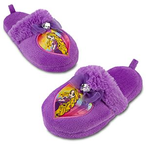Plush Tangled Rapunzel Slippers for Girls