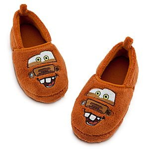 Plush Tow Mater Slippers for Boys