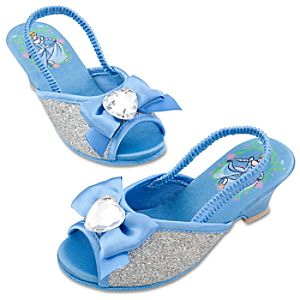 Dressy Cinderella Slippers for Girls