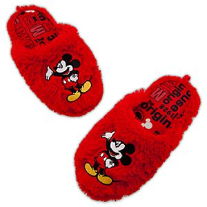 Mickey Mouse Slippers for Women
