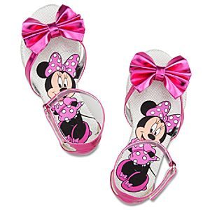 Deluxe Minnie Mouse Sandals for Girls