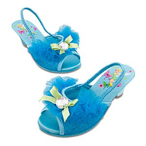 Dressy Tinker Bell Slippers for Girls