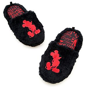 Love Mickey Mouse Slippers for Women
