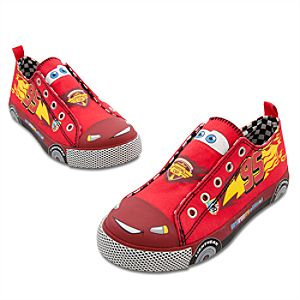 Lightning McQueen Slip-On Sneakers for Boys