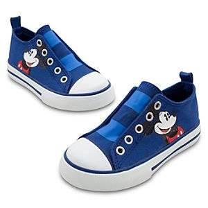 Slip-On Mickey Mouse Sneakers for Boys